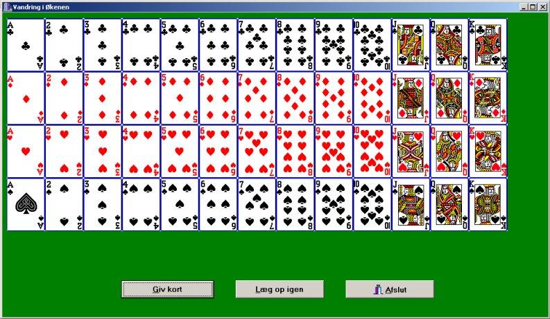 hvor mange kort er der i et kortspil